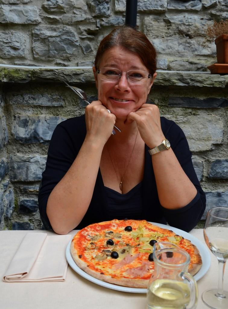 Mig og pizza