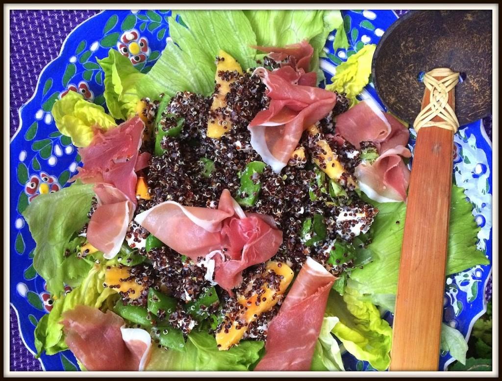 Quinoa er dekorativt, og så har det smag - lækkert og sundt.