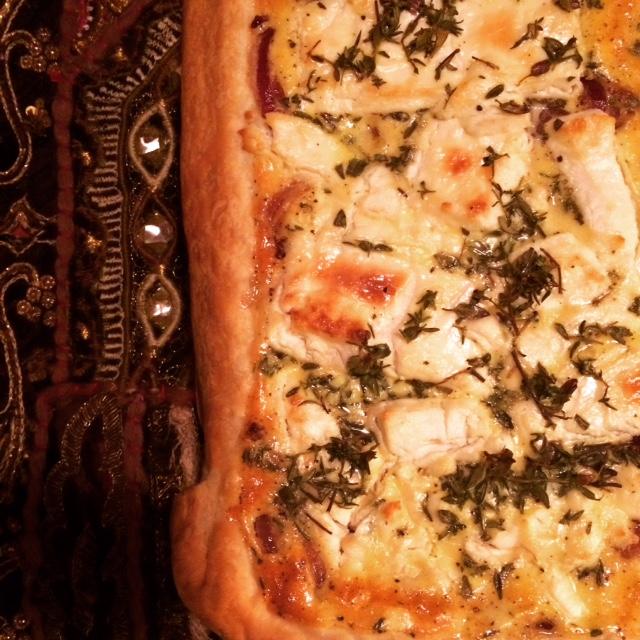 Nem, hurtig og lækker Middelhavstærte.